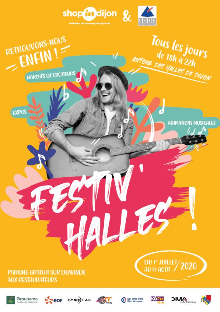 Les Halles de Dijon seront piétonnes et festives cet été