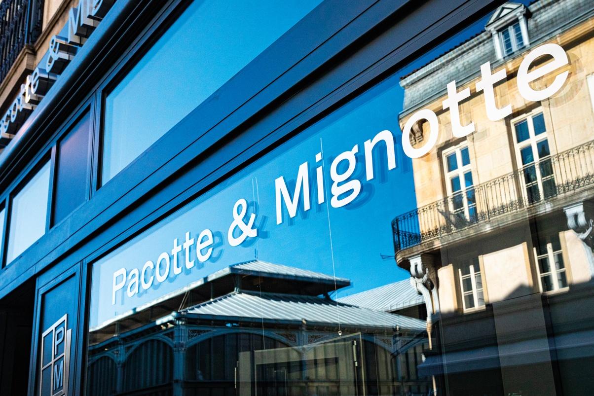 Pacotte & Mignotte s'installe aux halles de Dijon et signe son renouveau