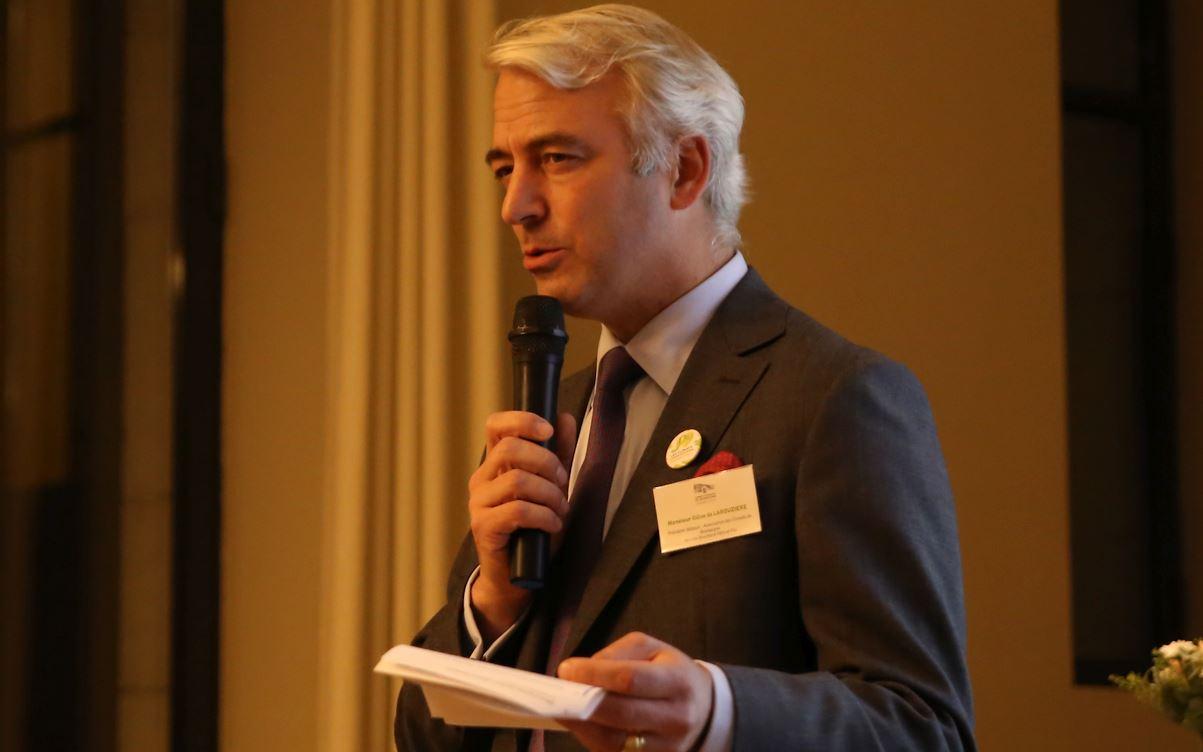 Gilles de Larouzière nouveau président des Climats de Bourgogne