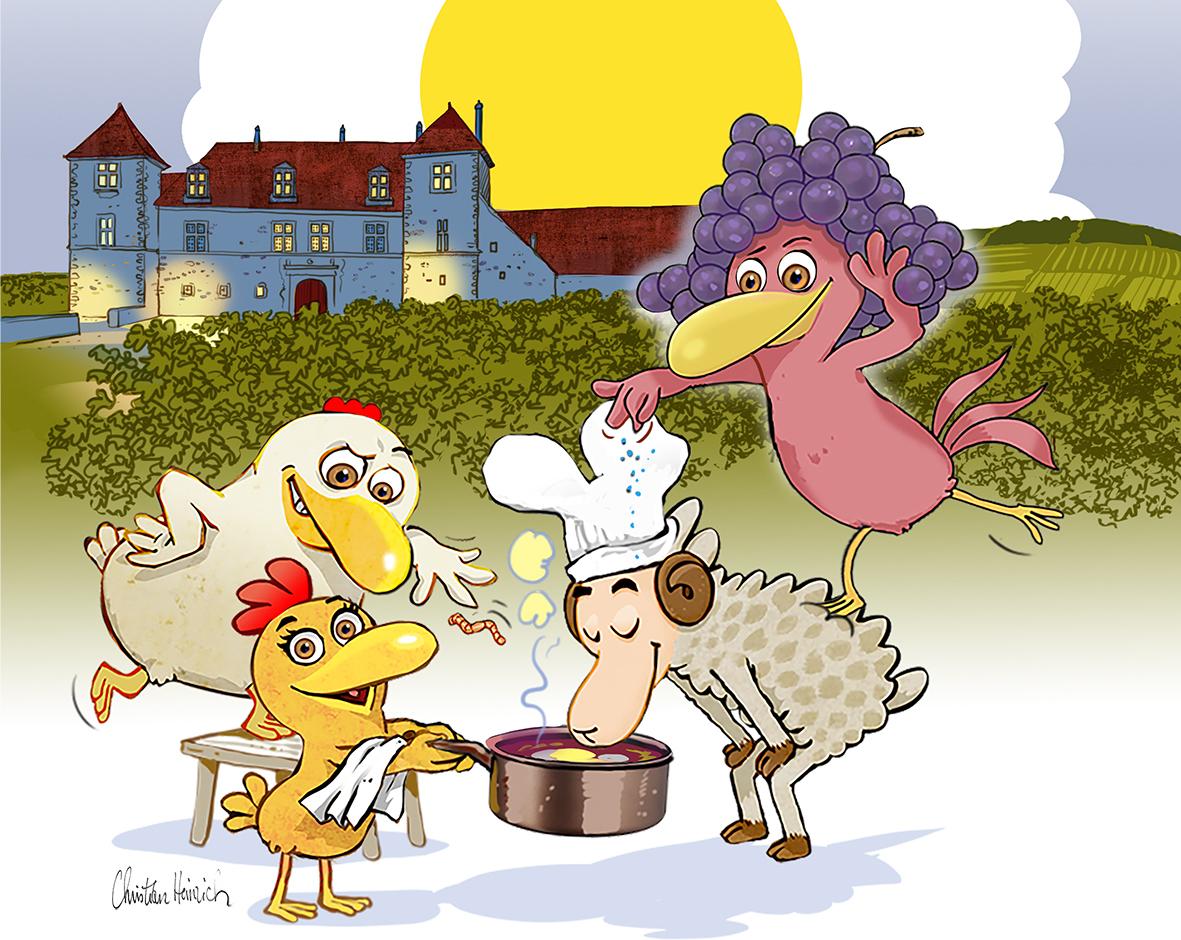 Les Journées mondiales de l'œuf meurette reviennent au château du Clos de Vougeot