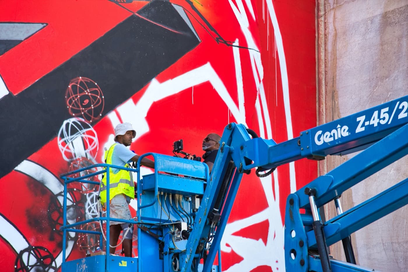Eron et Mode2, des graffeurs d'exception en résidence à La Karrière fin septembre