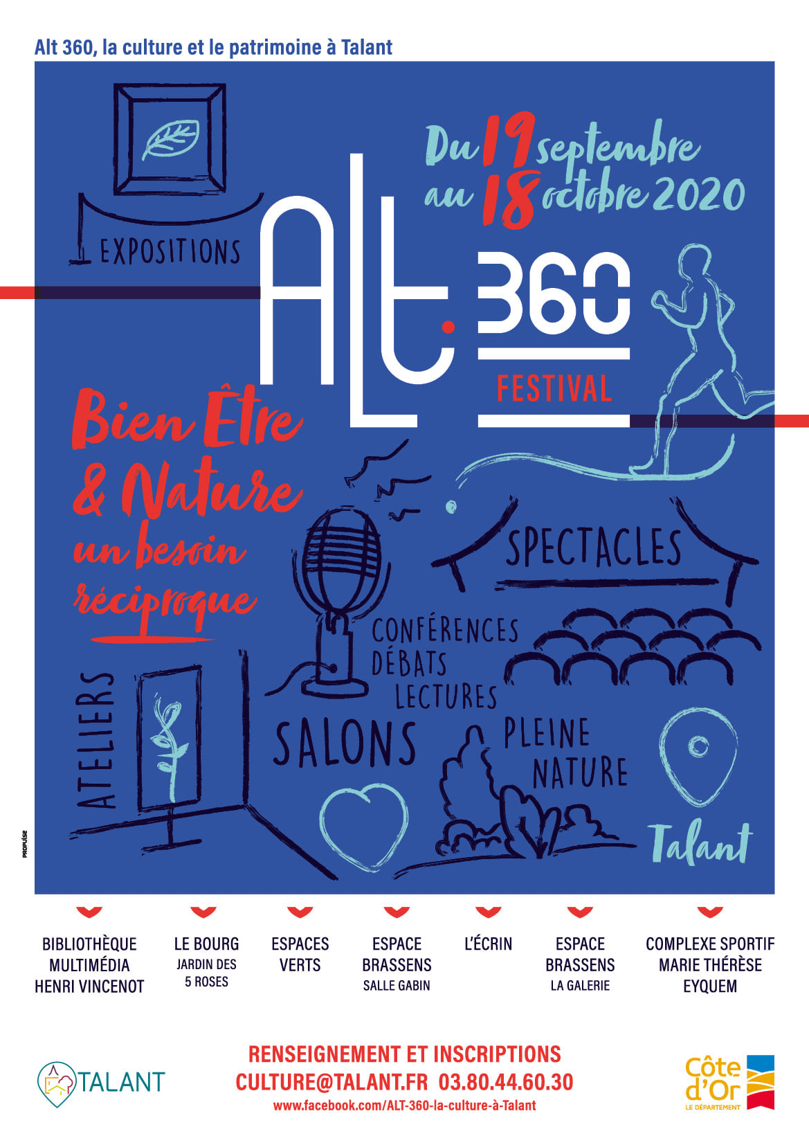 Alt 360, le festival bien-être et nature à Talant