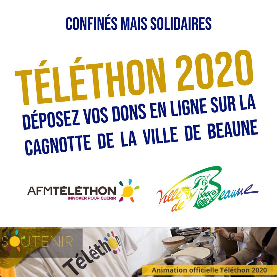 Téléthon 2020 : Beaune se mobilise avec une cagnotte en ligne