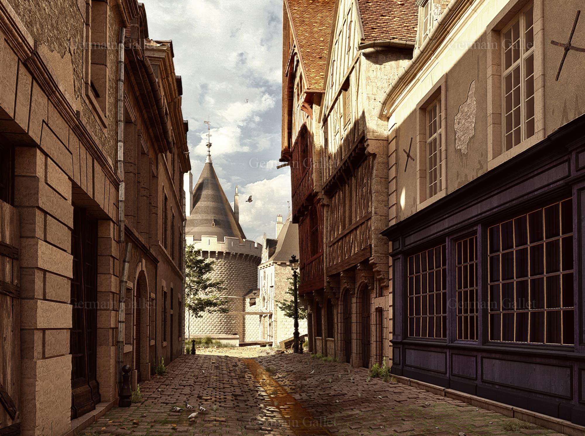 Le Dijon disparu du XVIIIᵉ siècle revit en images et vidéo