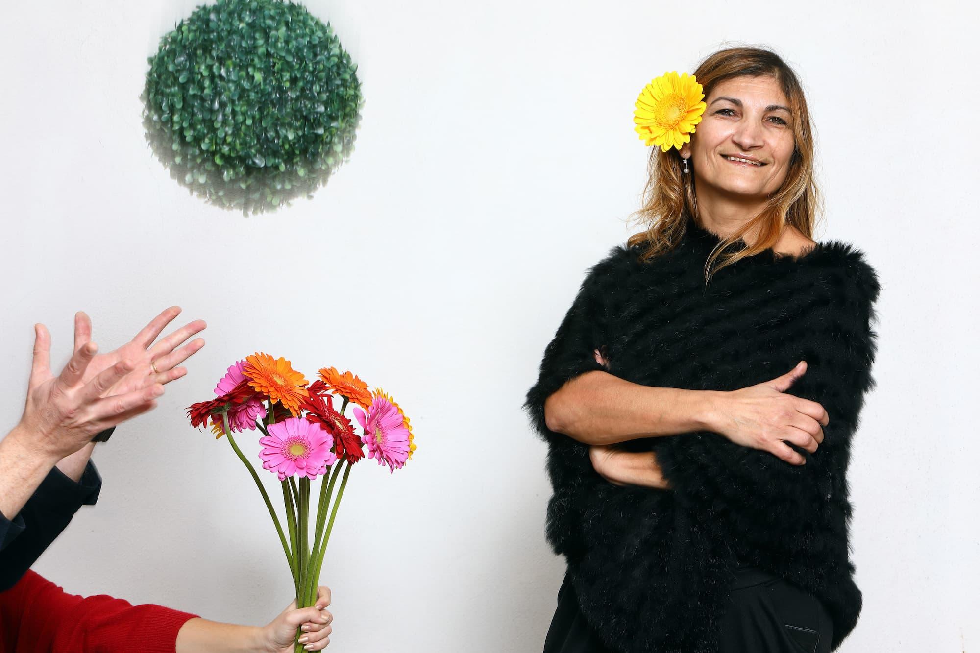 #ArtisanConfiné : à Chenôve, la fleuriste Marie Gaffiero loue la solidarité de sa clientèle