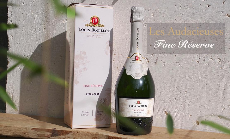 Pour les fêtes, Louis Bouillot la joue « fine » avec un crémant en édition limitée