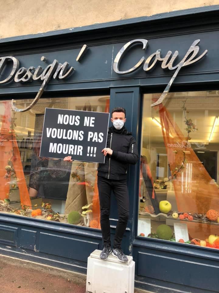 Le coup de gueule photo des commerçants de Châtillon-sur-Seine