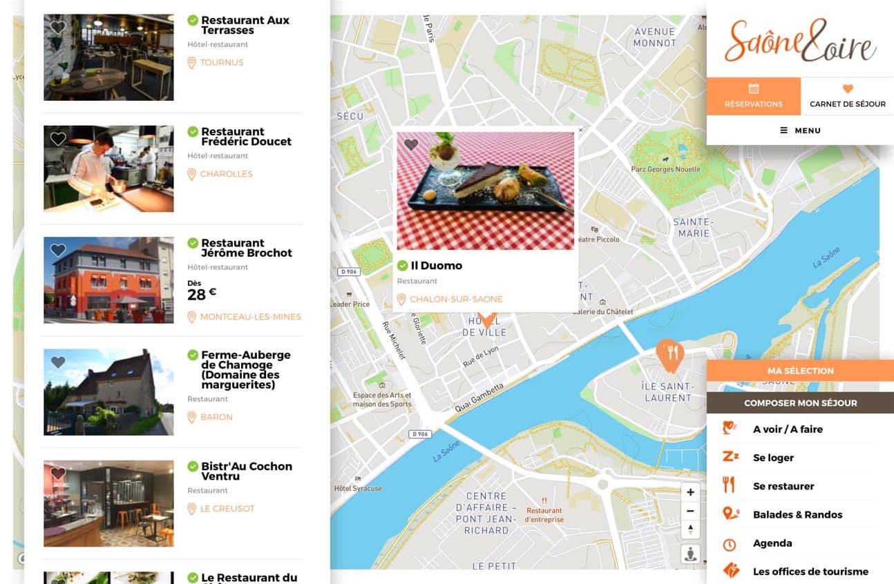 Où trouver de bons petits plats à emporter en Saône-et-Loire ?