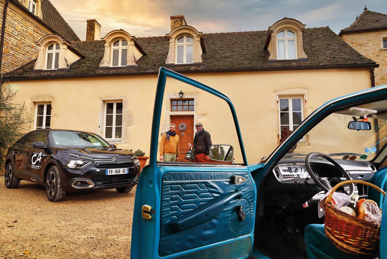 À Meursault, une Citroën C4 aux petits airs de GS