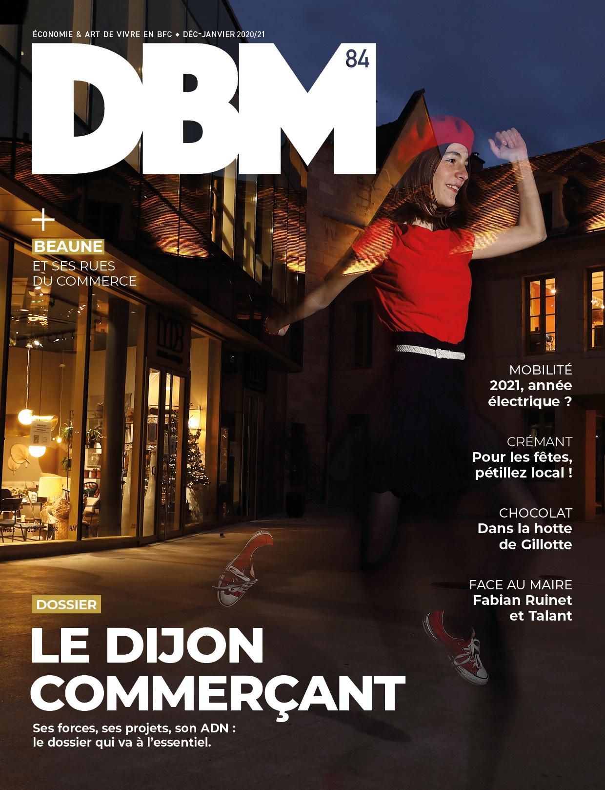 DBM n°84 : un numéro hommage au commerce à Dijon et Beaune