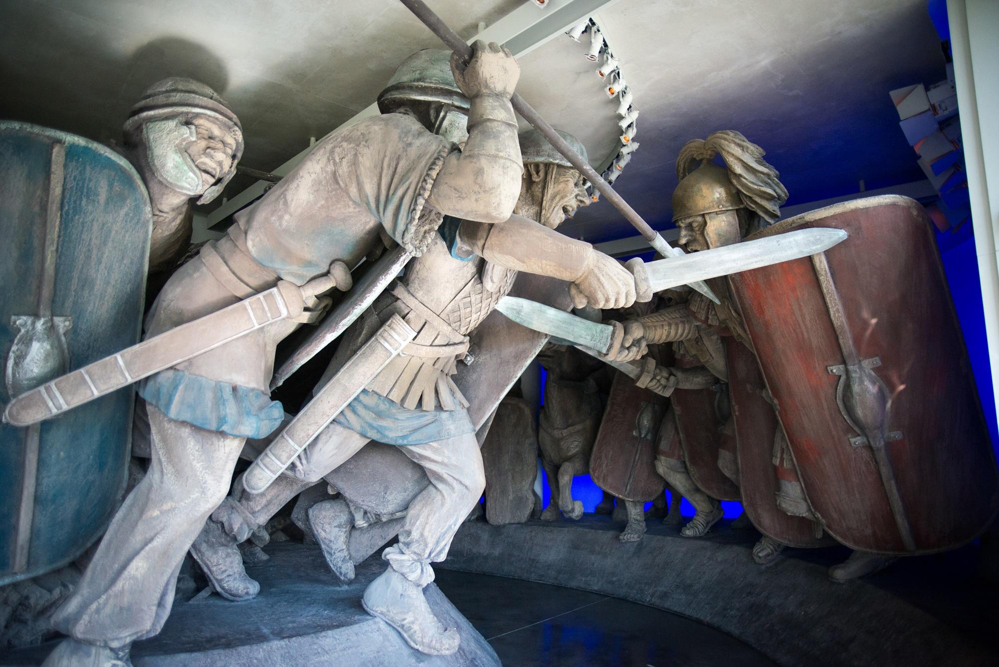 La lettre émouvante du tribun Antonius, victime une deuxième fois de la bataille d'Alésia