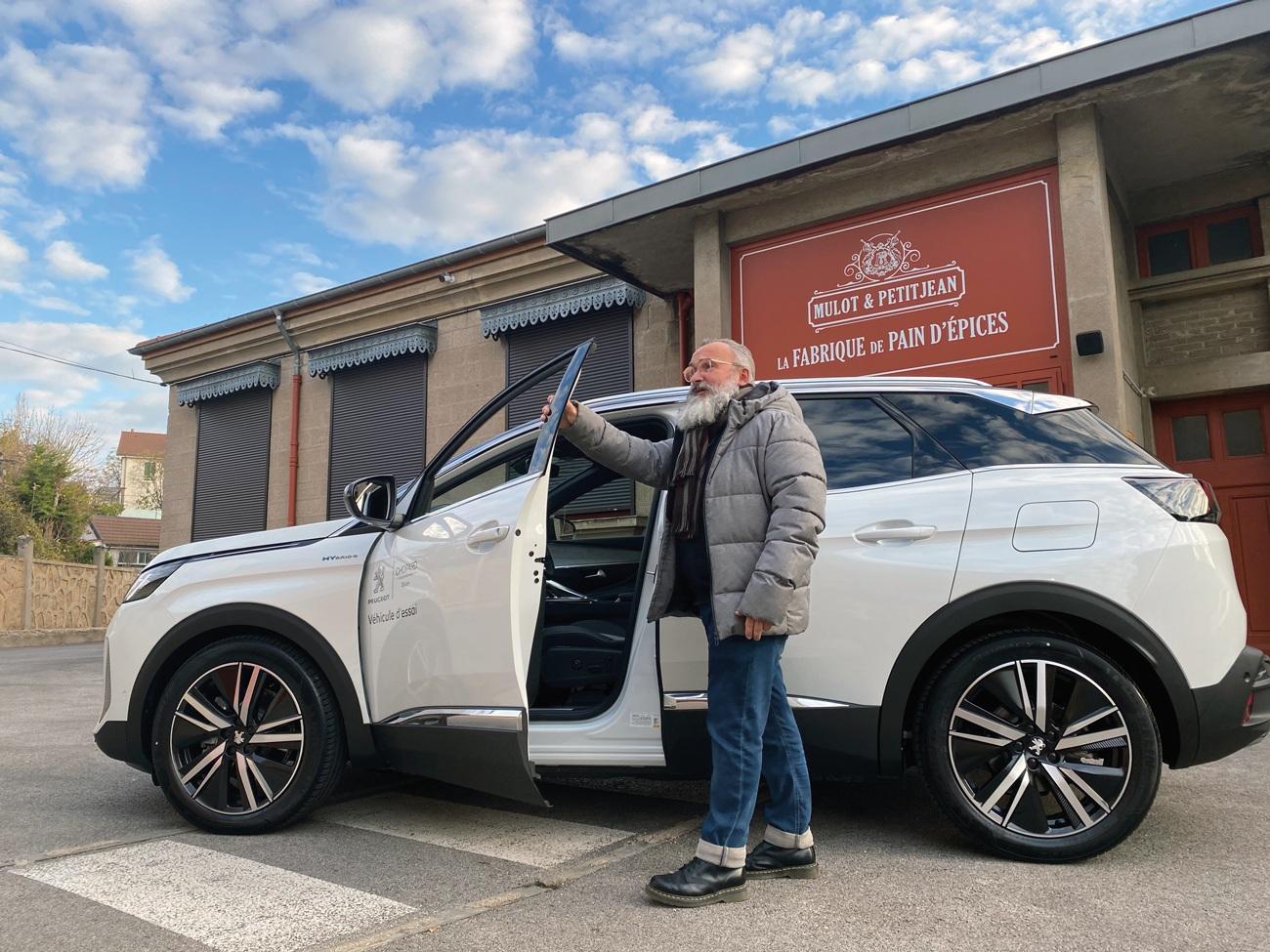 Essai Peugeot x Mulot & Petitjean : « Stan » au pays des nonnettes