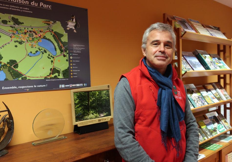 Olivier Georges, nouveau directeur du Parc naturel régional du Morvan