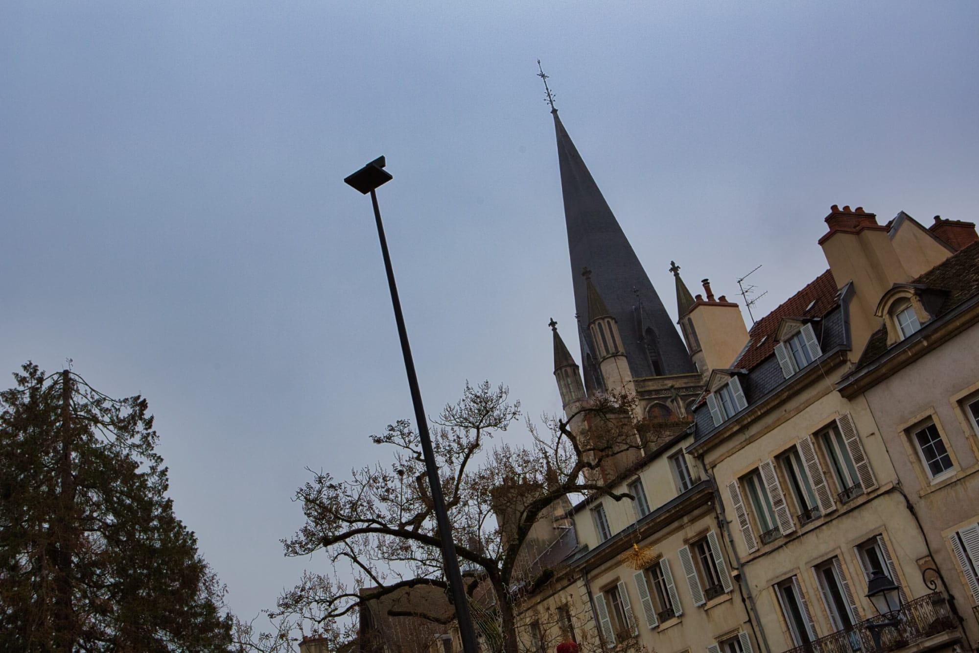 Le «Point de vue» de Philippe Ramette, à hauteur ducale
