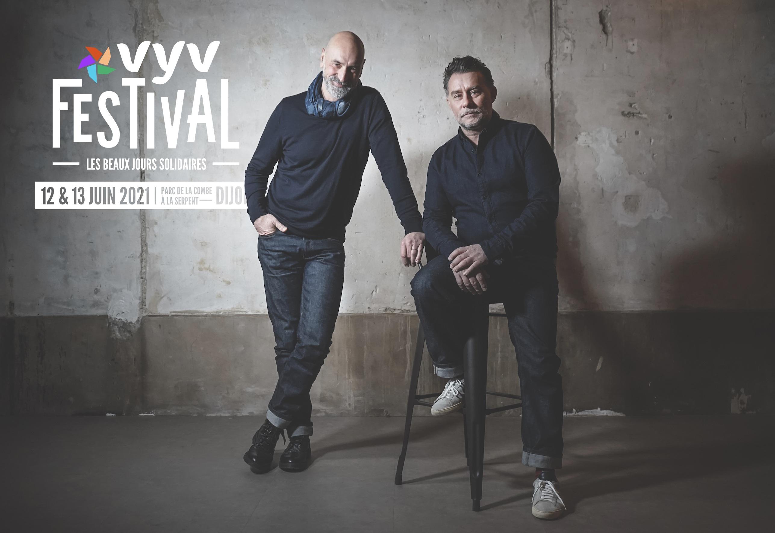 Pierre Clément et Christian Allex : « Vyv Festival 2021 est là pour amener du rêve »