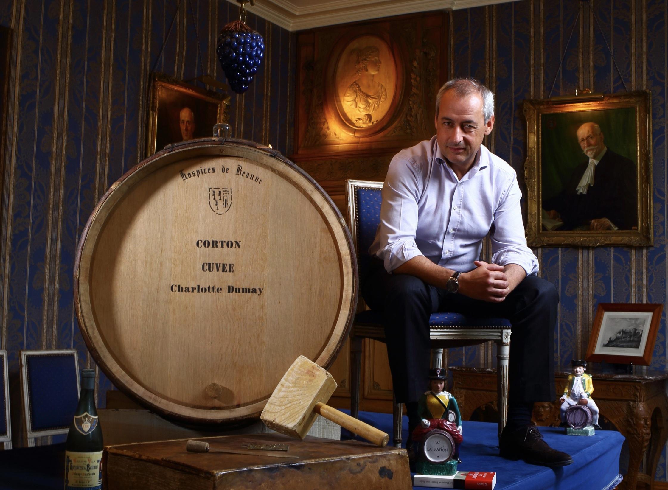Albéric Bichot nouveau président de l'Union des Maisons de Vins de Grande Bourgogne