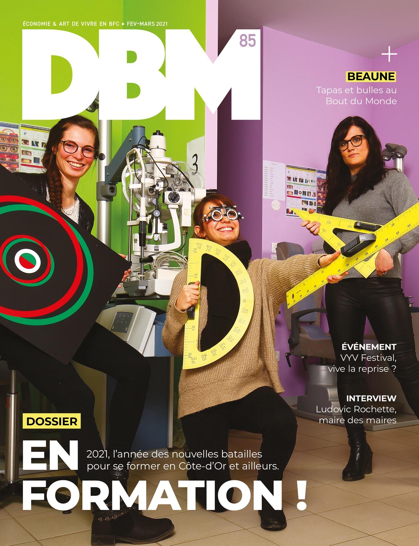 DBM n°85 : le numéro qui part en formation à Dijon, Beaune et ailleurs