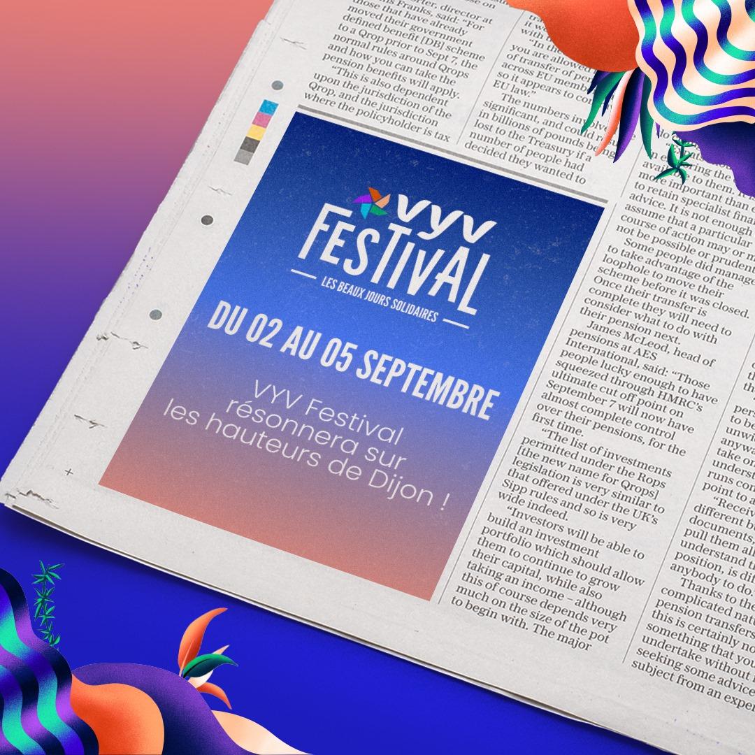 Dijon : le VYV Festival 2021 aura lieu en septembre