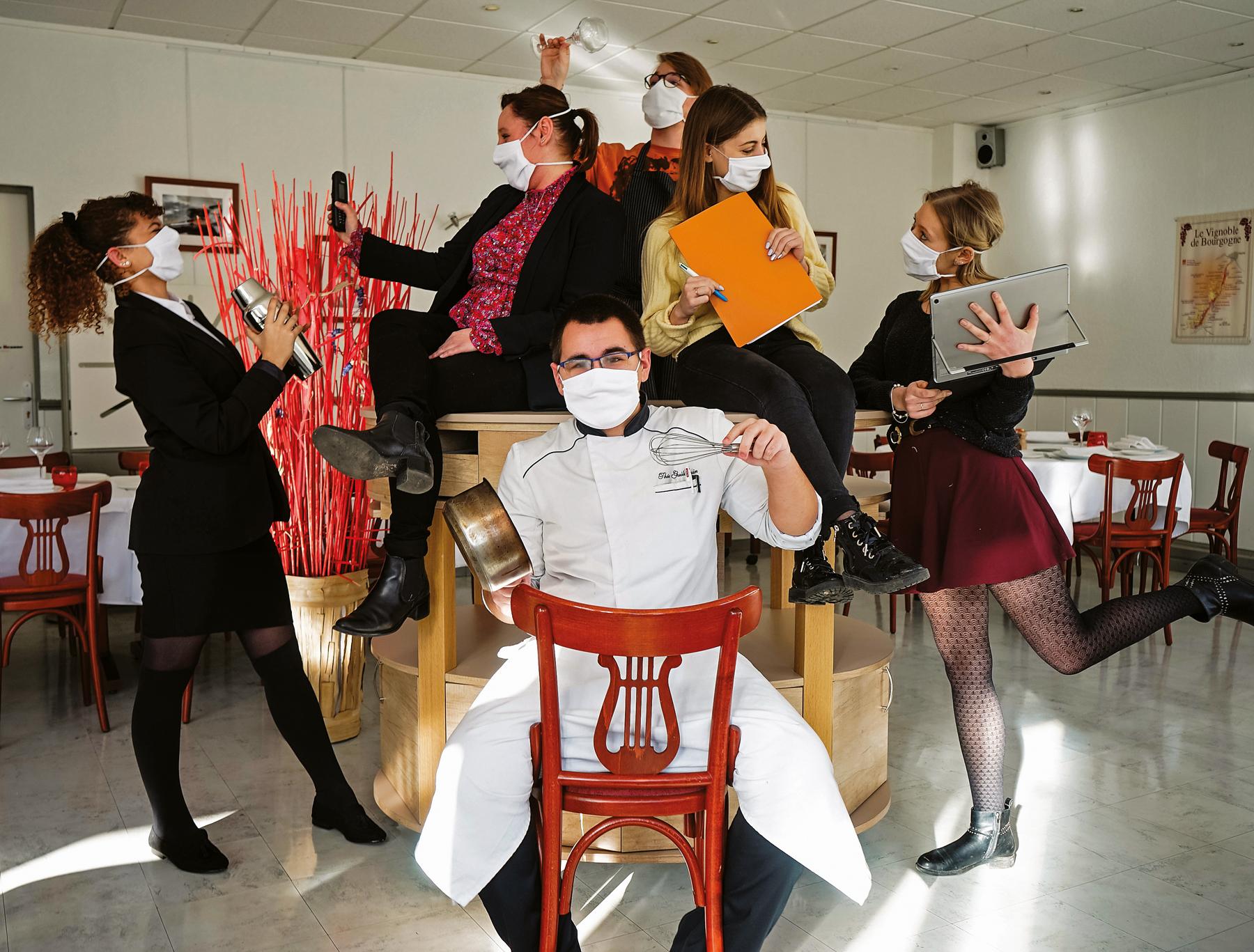 Les apprentis de l'École des Métiers, fidèles à l'hôtellerie-restauration malgré tout