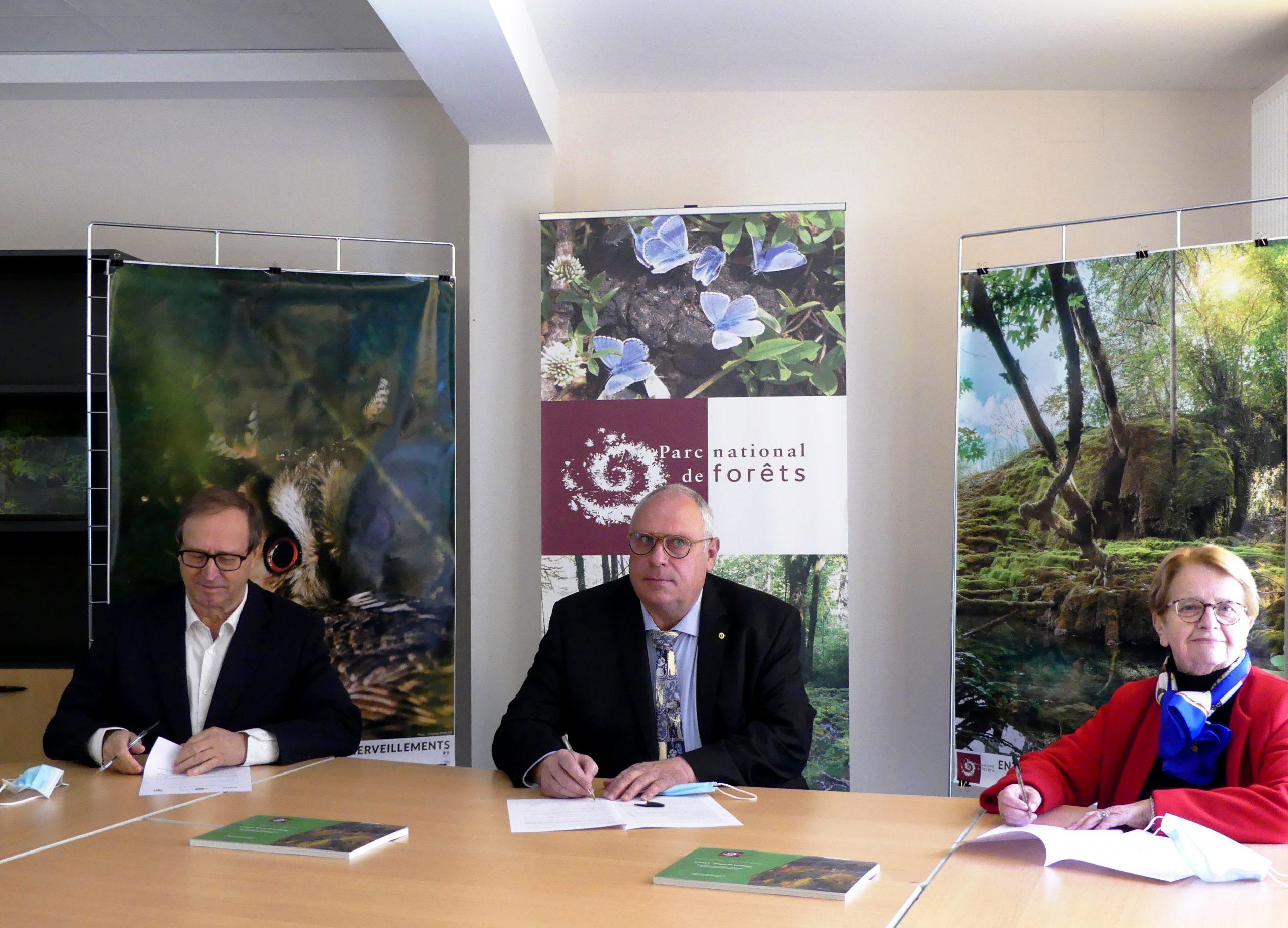 Au nom des patrimoines culturel et paysager, le Parc national de Forêts fait cause commune avec les CAUE