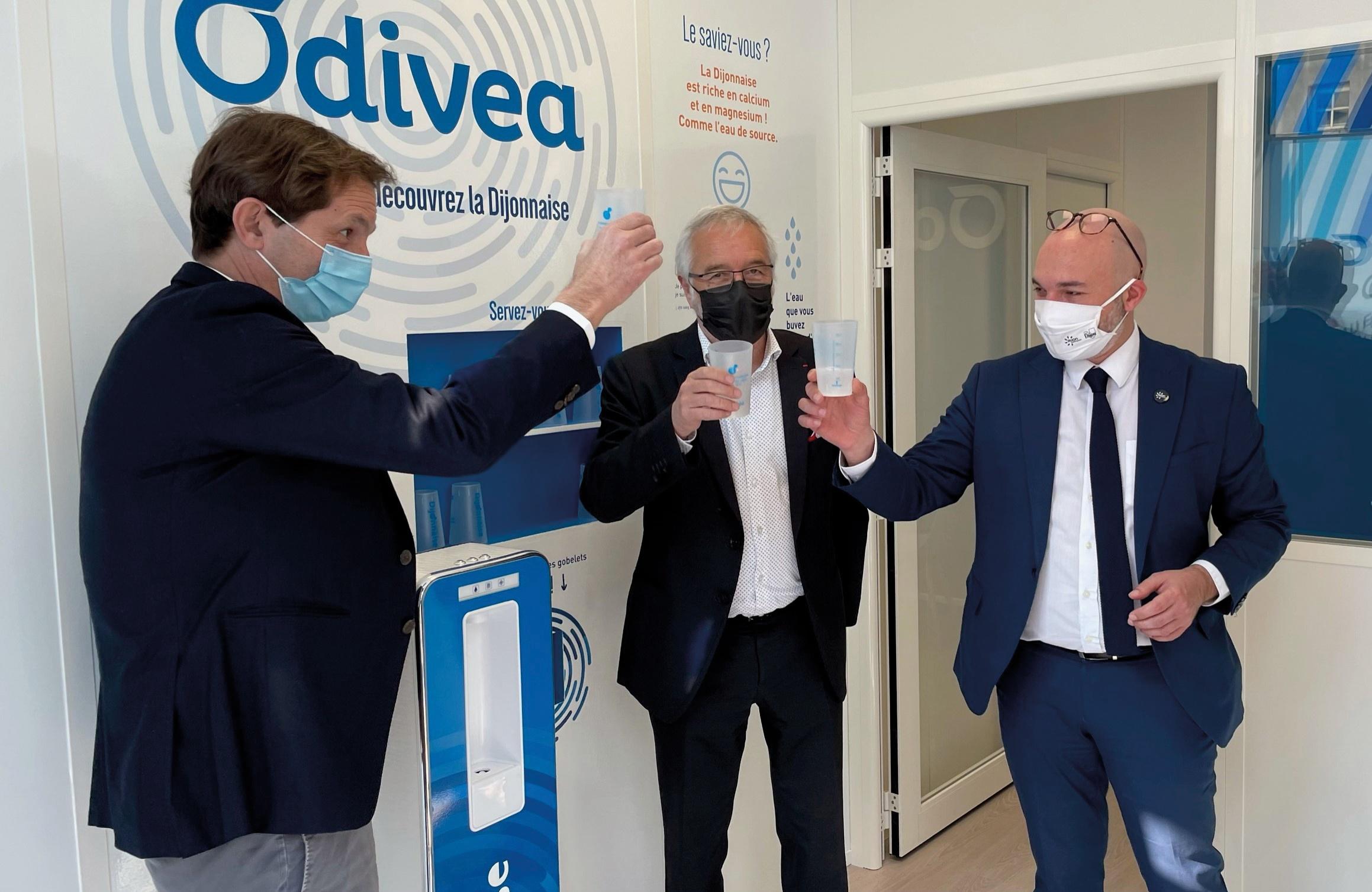 Avec Odivea, Dijon Métropole opte pour une gestion de l'eau partagée