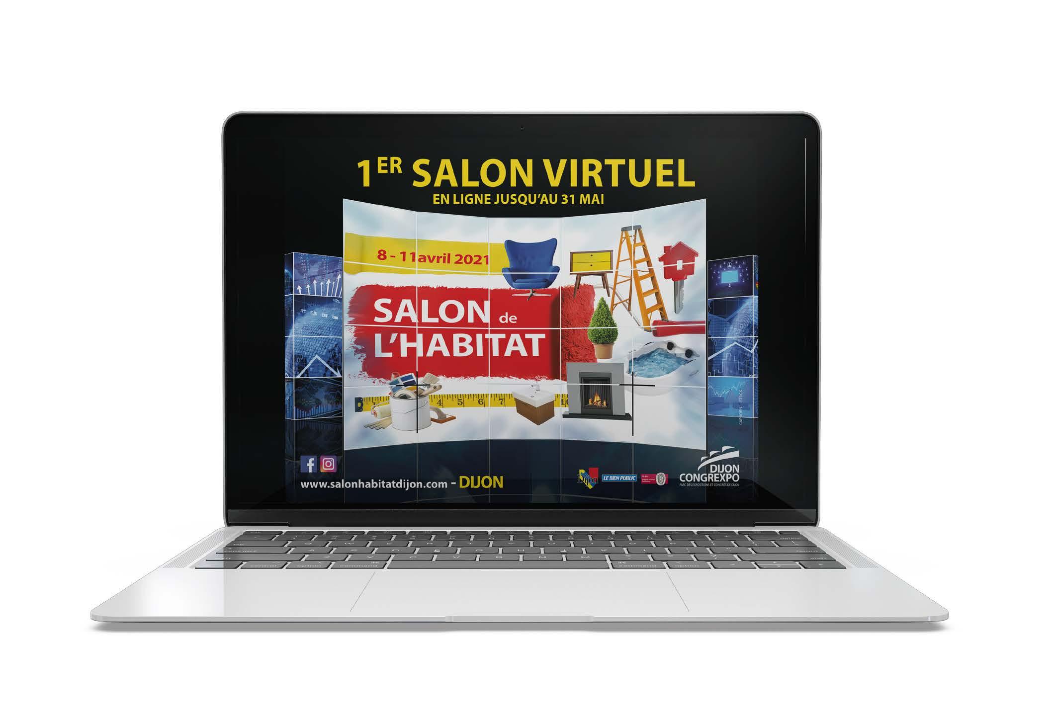 Dijon Congrexpo lance le premier Salon de l'habitat virtuel