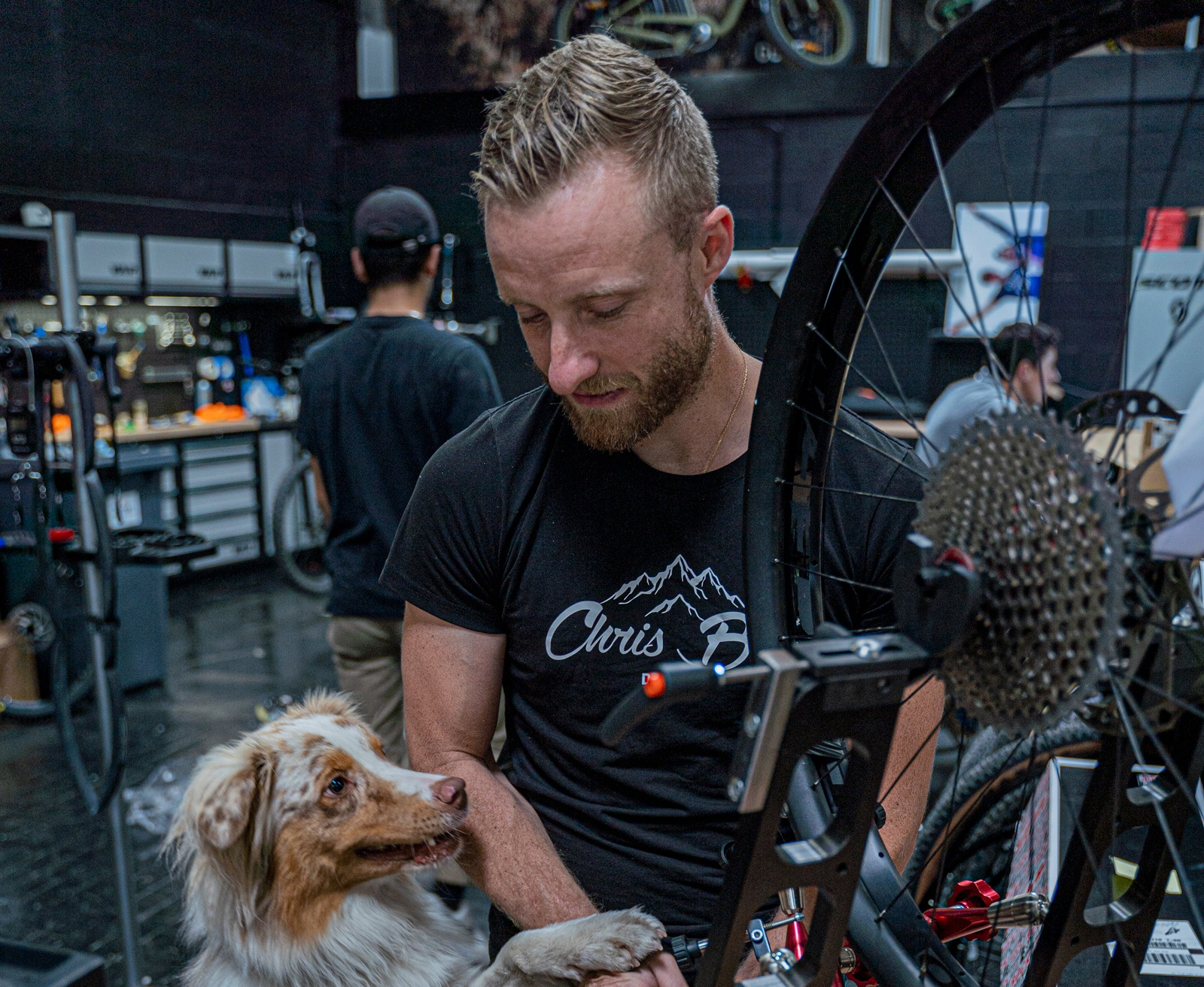 Christopher Wooldridge, le docteur vélo et mister bike de Dijon