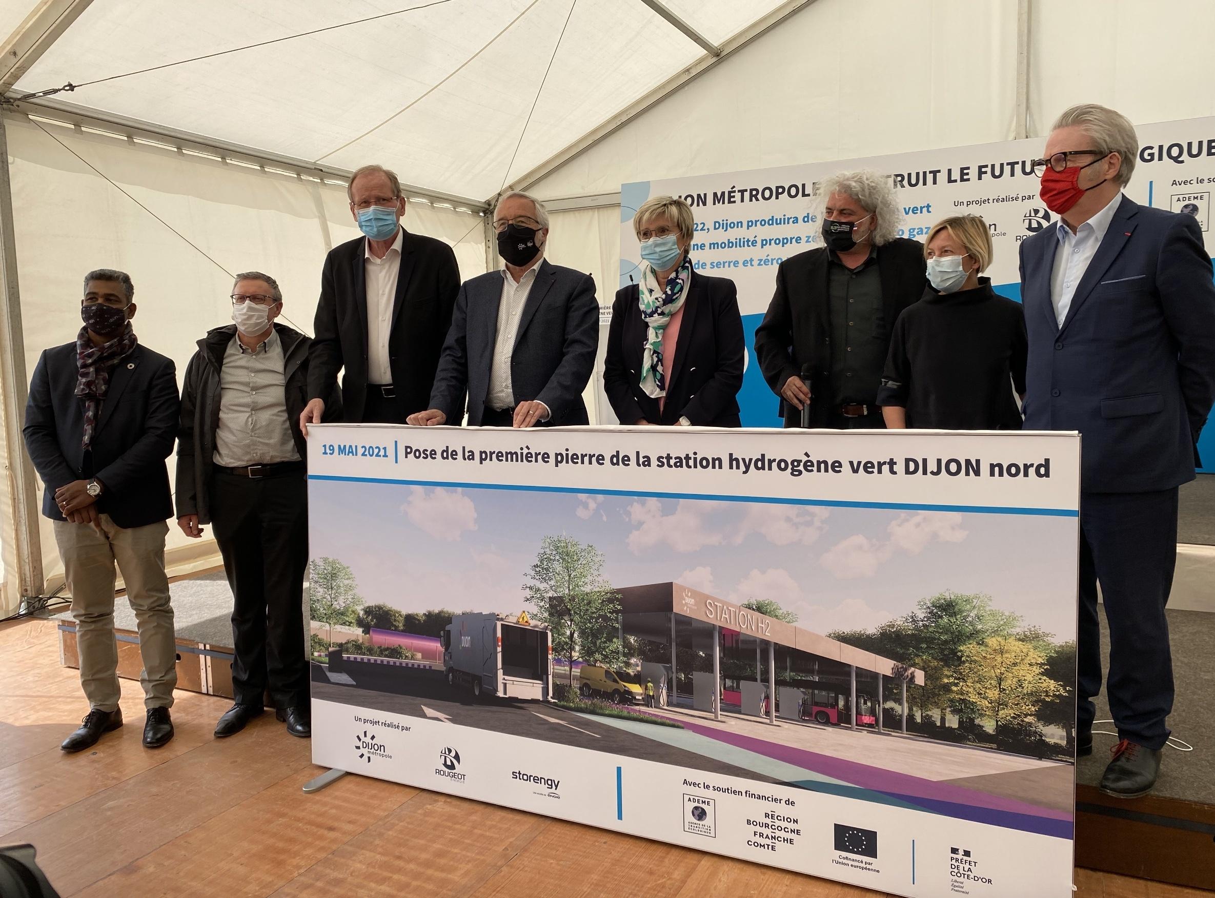 Dijon Métropole inaugure son grand projet hydrogène