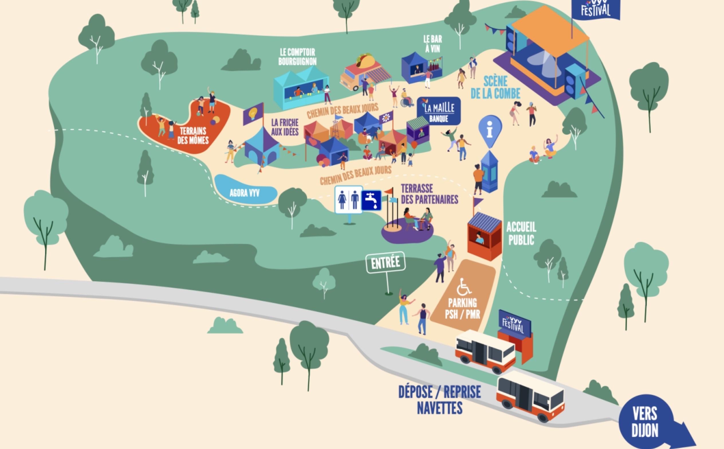 VYV Festival 2021 à Dijon : la nouvelle programmation du 2 au 5 septembre