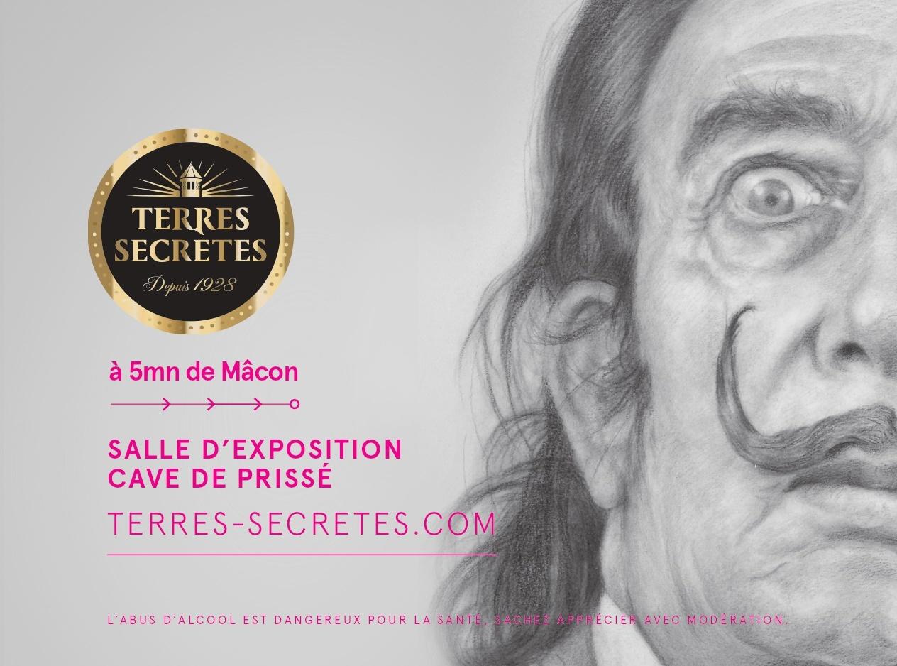 Exposition : Salvador Dalí, fou des Vignerons des Terres Secrètes !