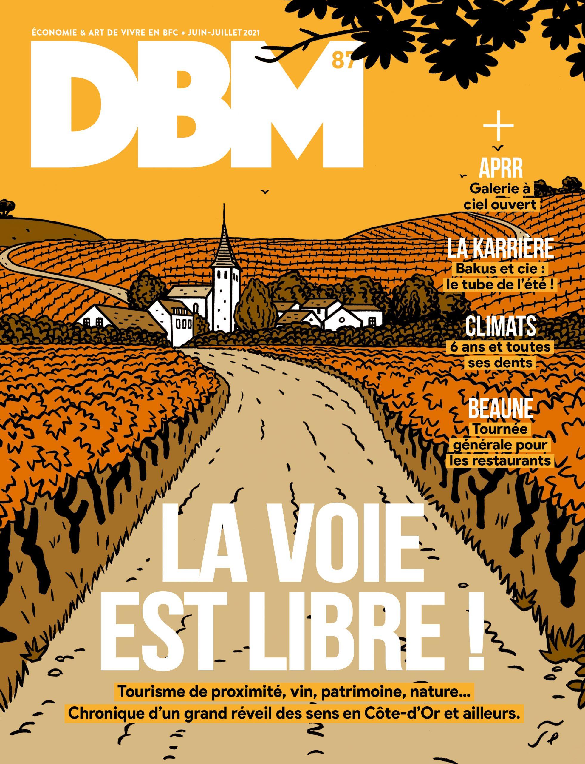 DBM n°87 prend l'autoroute des sens cet été