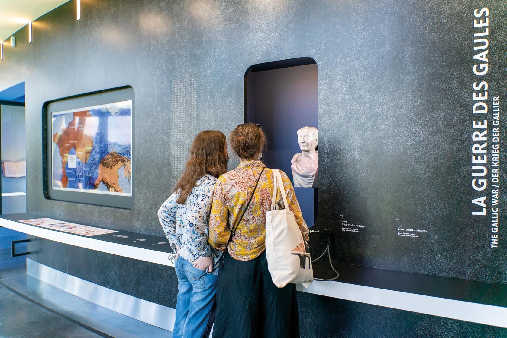 Intelligente, interactive, drôle : la nouvelle scénographie du MuséoParc fait l'unanimité
