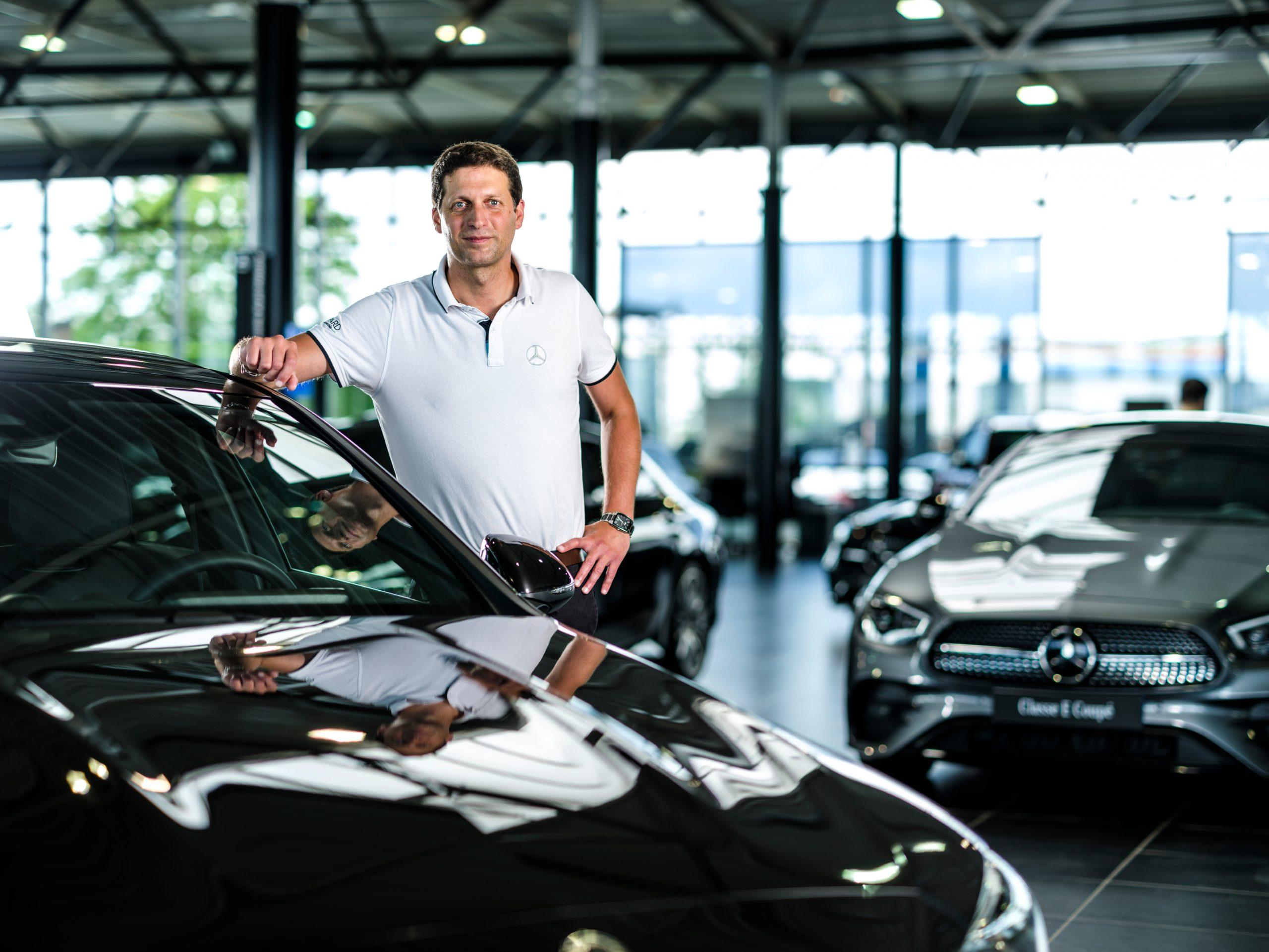 Mathieu, Manu et Alain : portrait d'un casting trois étoiles chez Mercedes-Benz Dijon