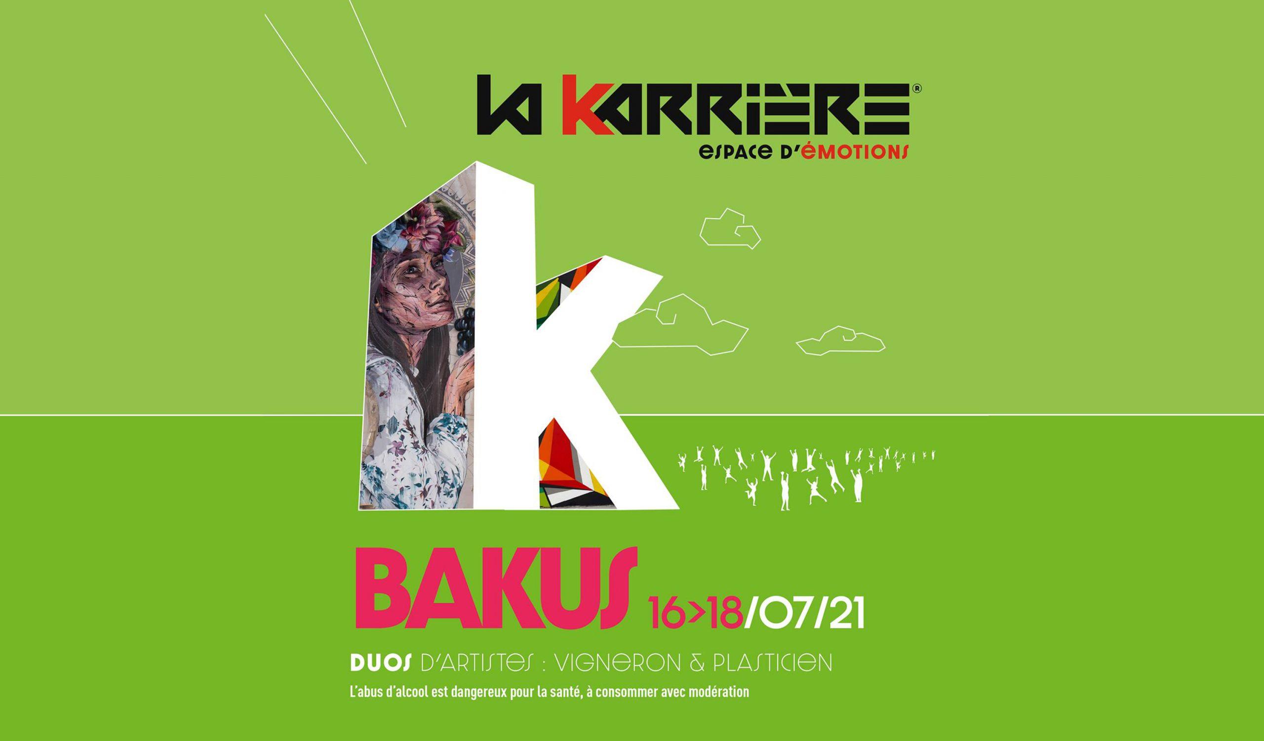 Bakus : l'événement live qui réunit vignerons et artistes à La Karrière