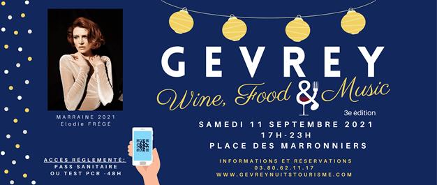 Troisième service pour le Gevrey Wine Food & Music