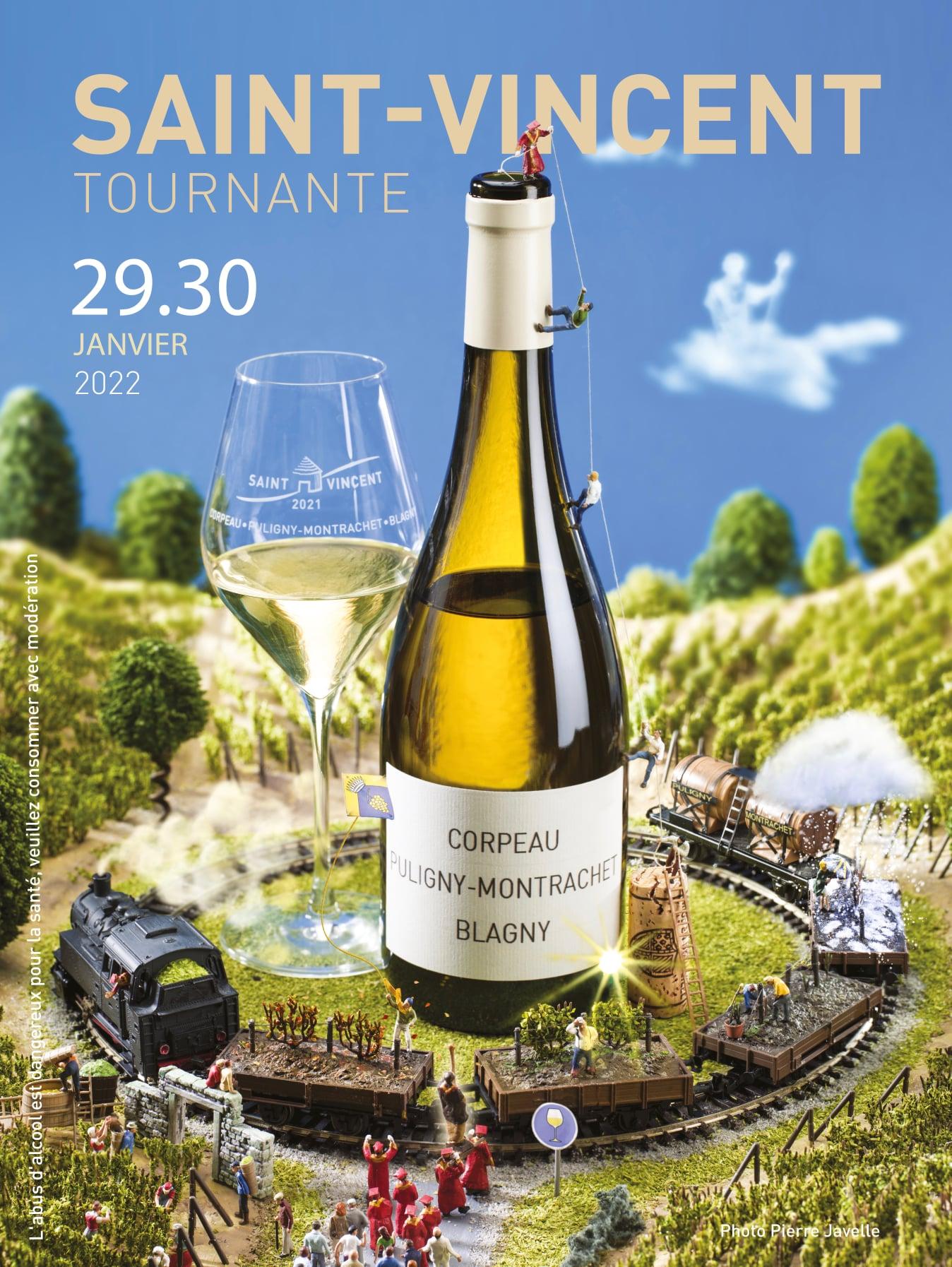 La Saint-Vincent tournante 2021 de Corpeau-Puligny-Blagny sur de bons rails